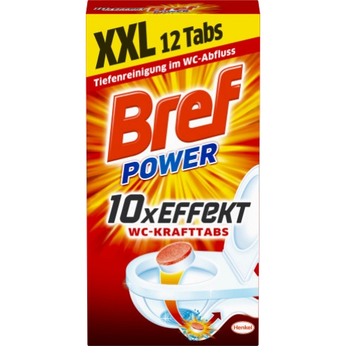 Bref Power WC-Kraft Tabs 12er