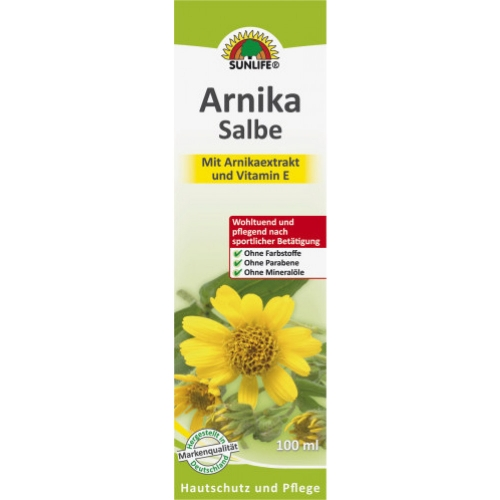 Sunlife Arnika Salbe 100ml Tube