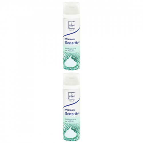 2 x LaLigne Rasiergel Men Sensitiv 200ml